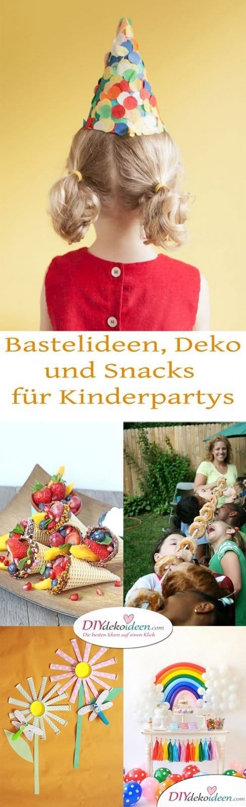 DIY Bastelideen - Kinderparty