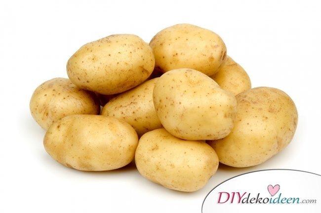 9 Hausmittel gegen Sonnenbrand - Kartoffeln