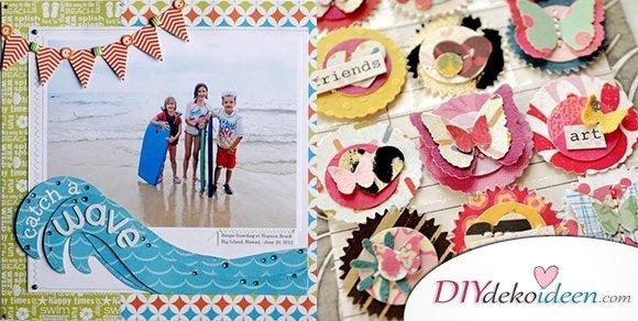 Scrapbooking – DIY Fotoalbum Ideen für eure Urlaubsbilder & Familienfotos