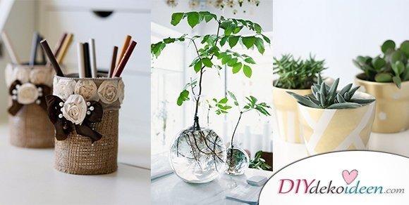Gib deinem Arbeitsplatz eine eigene Note – 15+ DIY Bürodeko Ideen