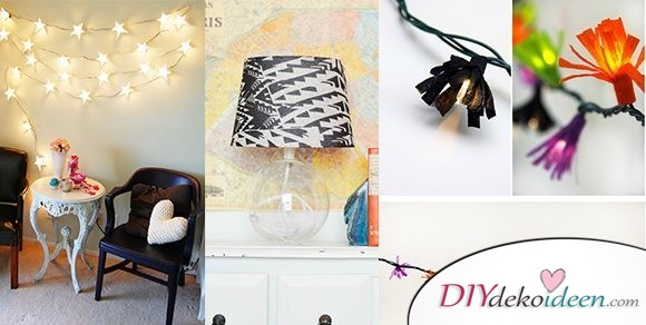 DIY Lampen selber machen – die schönsten Bastelideen für dein Zimmer