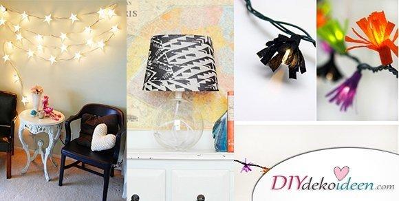 DIY Lampen selber machen - die schönsten Bastelideen für ...