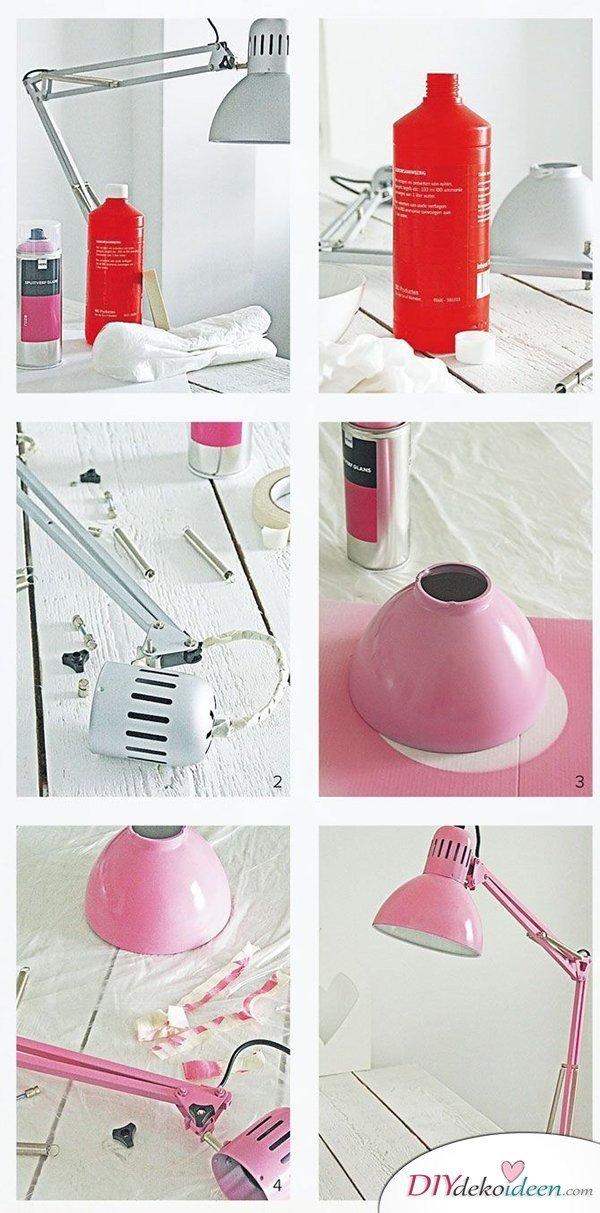 15 Bastelideen DIY Lampen Selber Machen   DIY Tischlampe