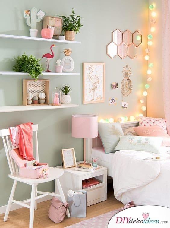 Dekoration für kleine Zimmer - 20 platzsparende Dekoideen - Regal Ideen