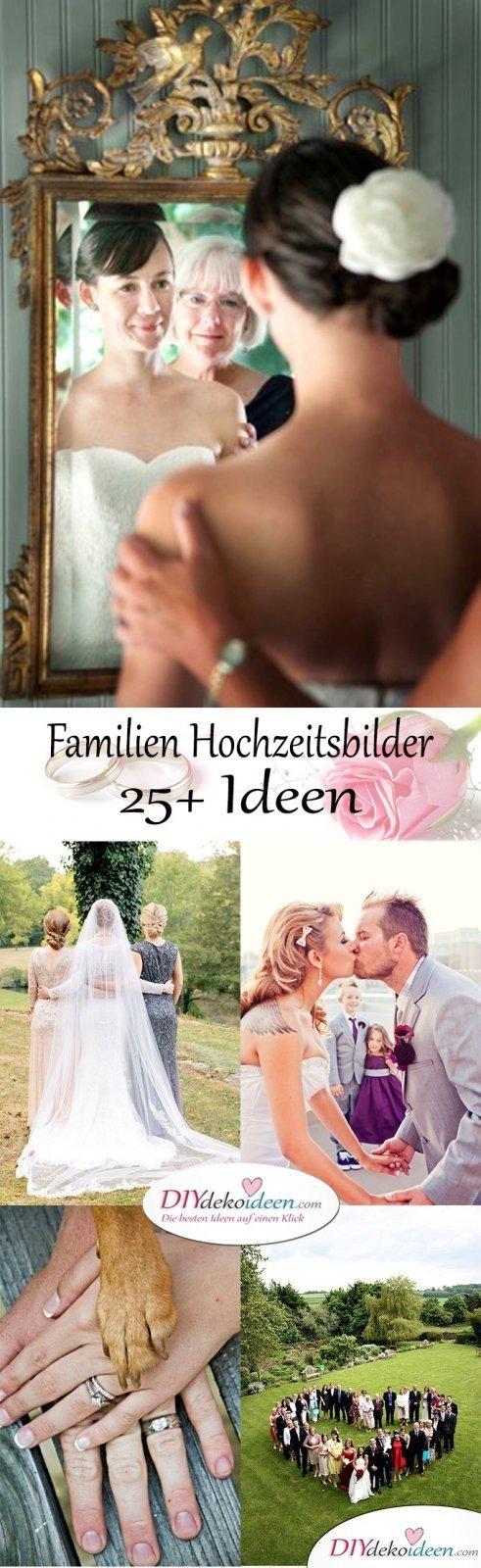 Familien Hochzeitsbilder fürs Album