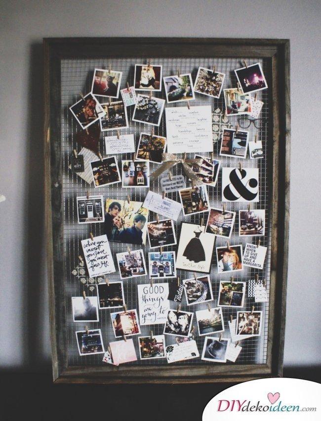 30+ Fotowände und Fotocollagen Ideen - Foto Geschenke