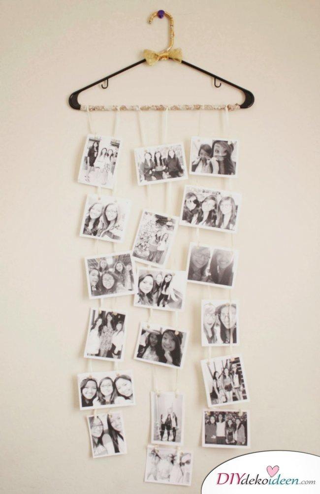 30+ Fotowände und Fotocollagen Ideen - kreativ Fotos