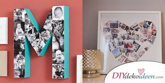 Fotocollage Ideen.Fotowände Und Fotocollagen Ideen Mit Denen Du Dein Heim