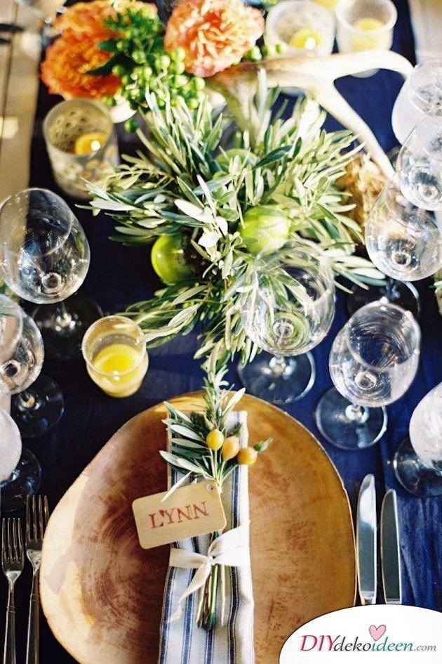 Obst Deko zur Hochzeit – Zitronen deko