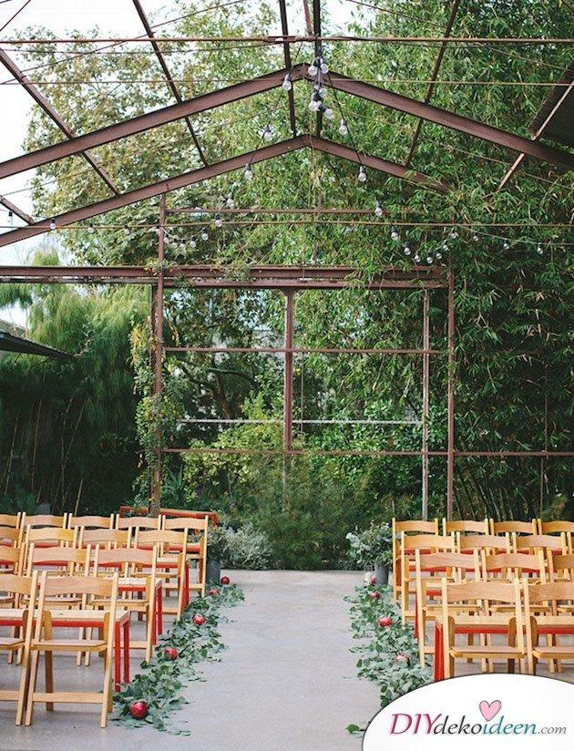 Obst Deko zur Hochzeit – Gartenhochzeit Ideen