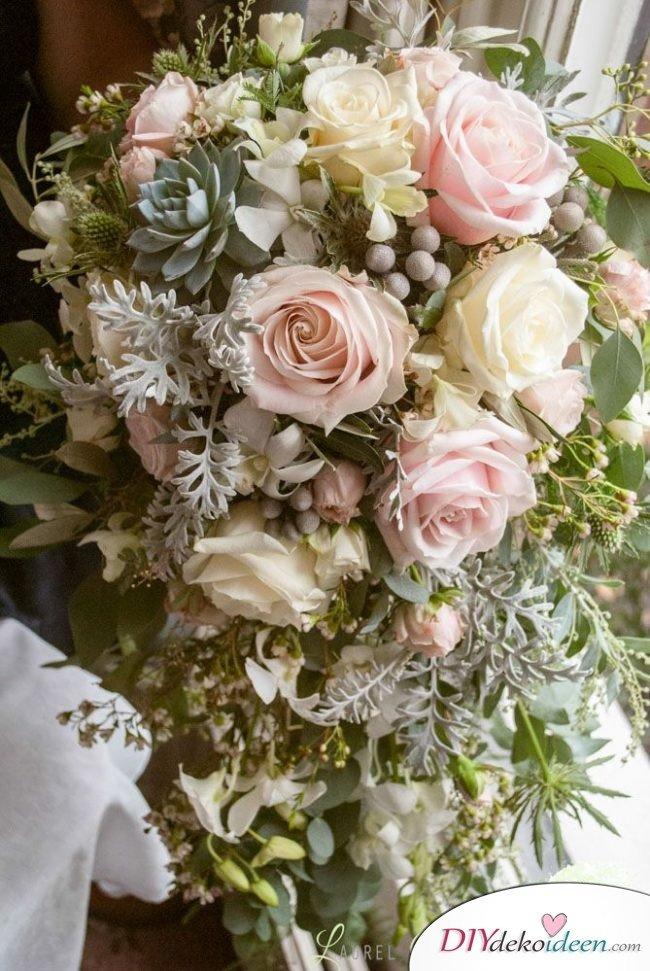 Obst Deko zur Hochzeit – Beeren deko Blumenschmuck Ideen