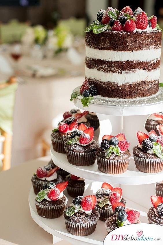 Obst Deko zur Hochzeit – Hochzeitstorten