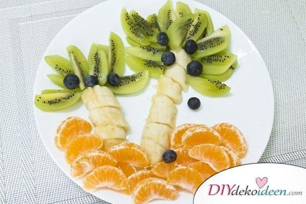 Obst für Kinder - Gerichte für Kleinkinder