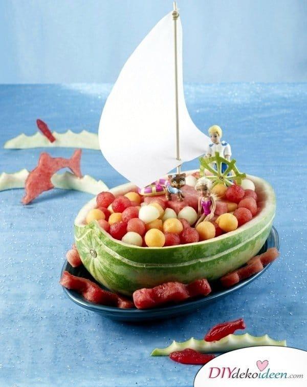 Obst für Kinder - einfache Rezeptideen