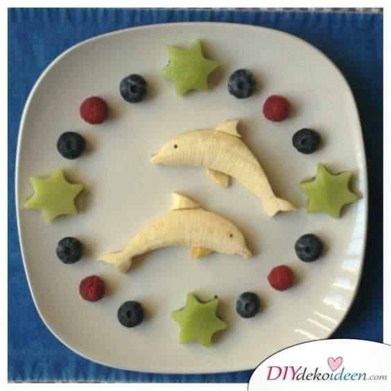 Obst für Kinder - Dessert