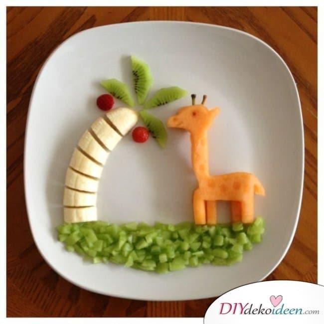 Obst für Kinder - Dessert Rezepte