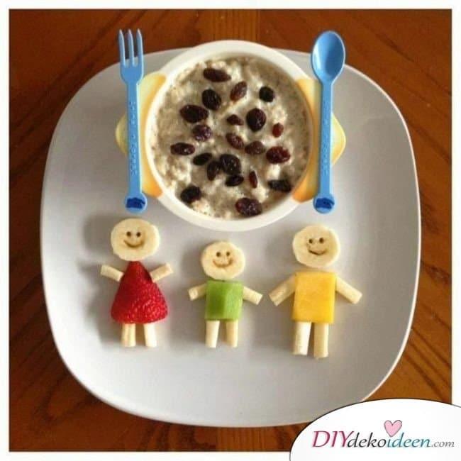 Obst für Kinder - Desserts