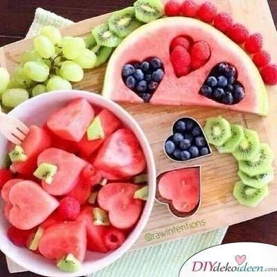 Obst für Kinder - einfache Nachspeise Rezepte