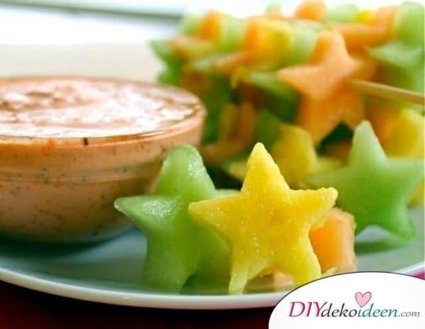 Obst für Kinder - einfache Rezept Ideen