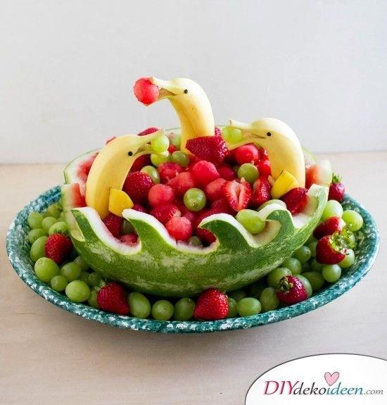 Obst für Kinder - einfache Nachtisch Rezepte