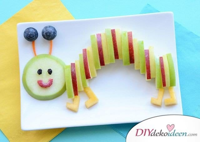 Obst für Kinder - einfache Rezepte