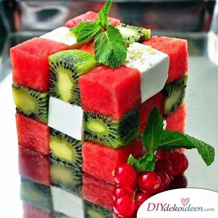 30 Sommerparty Deko Ideen - DIY Frucht Deko