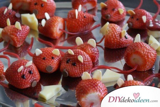 30 Sommerparty Deko Ideen - DIY Obst für Kinder