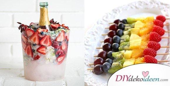 30 Sommerparty Deko und Snack Ideen - DIY Dekoideen