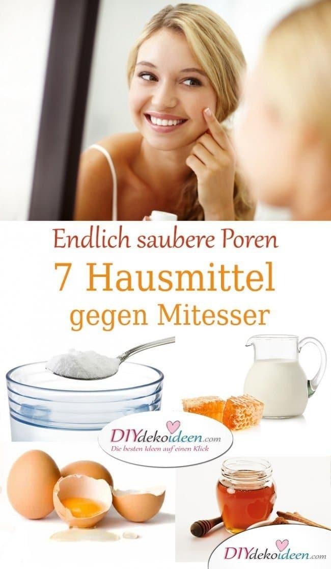 Die besten Hausmittel gegen Mitesser - Hautunreinheiten