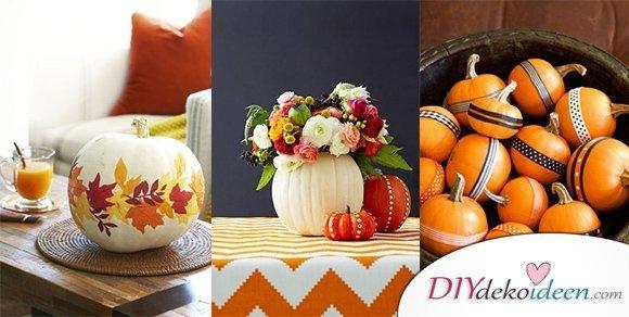 Willkommen, Herbst! 20 Ideen für Deko mit Kürbissen