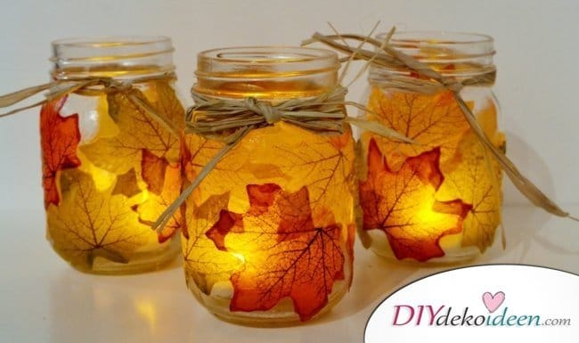 Erntedankfest Deko selber machen - Herbstdeko selber machen