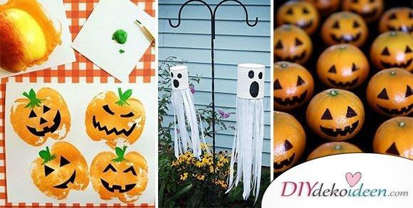 Es spukt! 15 Halloween Bastelideen + Anleitungen