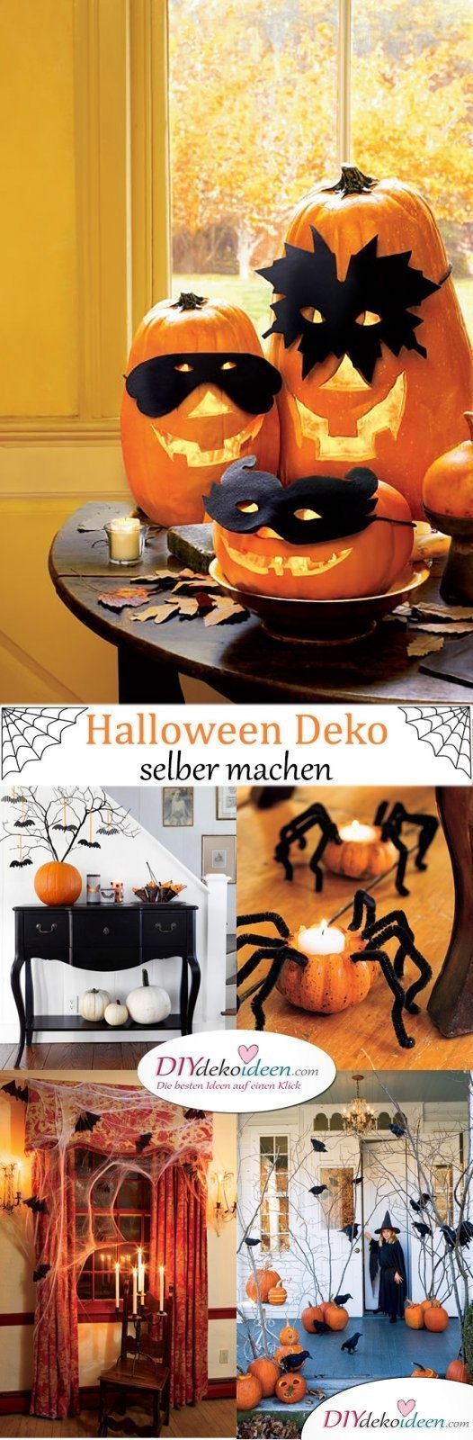 halloween deko selber machen f r eine gruselige party. Black Bedroom Furniture Sets. Home Design Ideas