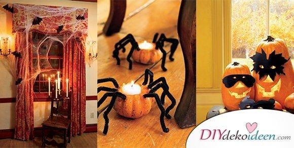 Halloween Deko selber machen für eine gruselige Party