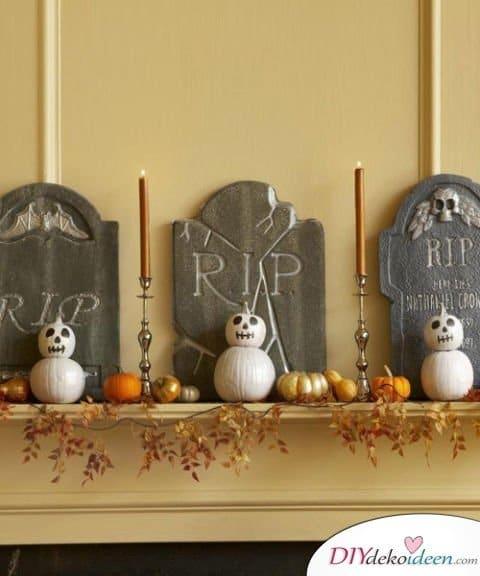 Halloween Deko selber machen - 15 Bastelideen - Deko Ideen für Halloween zum basteln