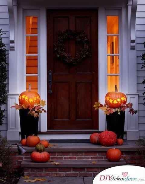 Halloween Deko selber machen - 15 Bastelideen - Veranda Deko