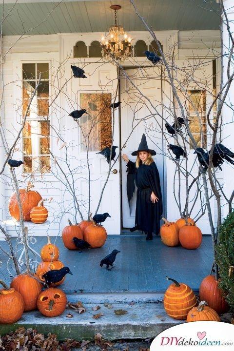 Halloween Deko selber machen - 15 Bastelideen - basteln zu Halloween