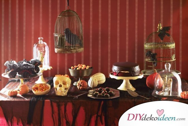 Halloween Deko selber machen - 15 Bastelideen - Halloweenparty