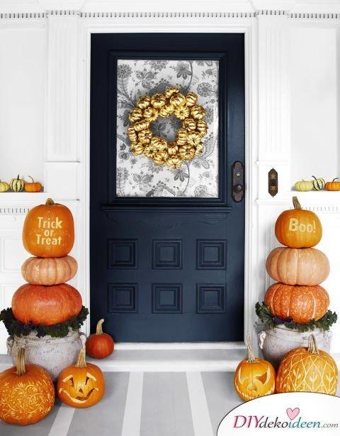 Halloween Deko selber machen - 15 Bastelideen - Deko für Halloween