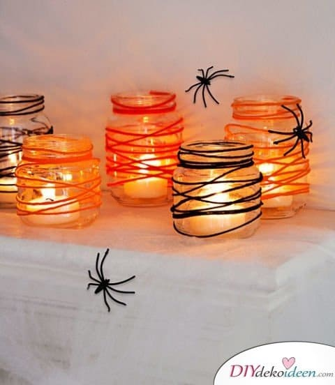 Halloween Deko selber machen - Halloween Bastelideen