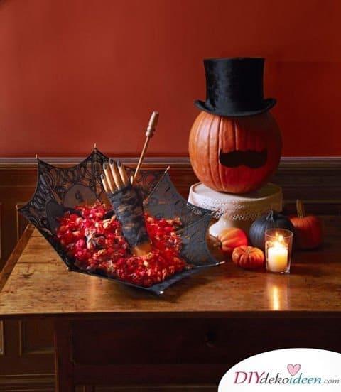 Halloween Deko selber machen - Halloween Bastelidee