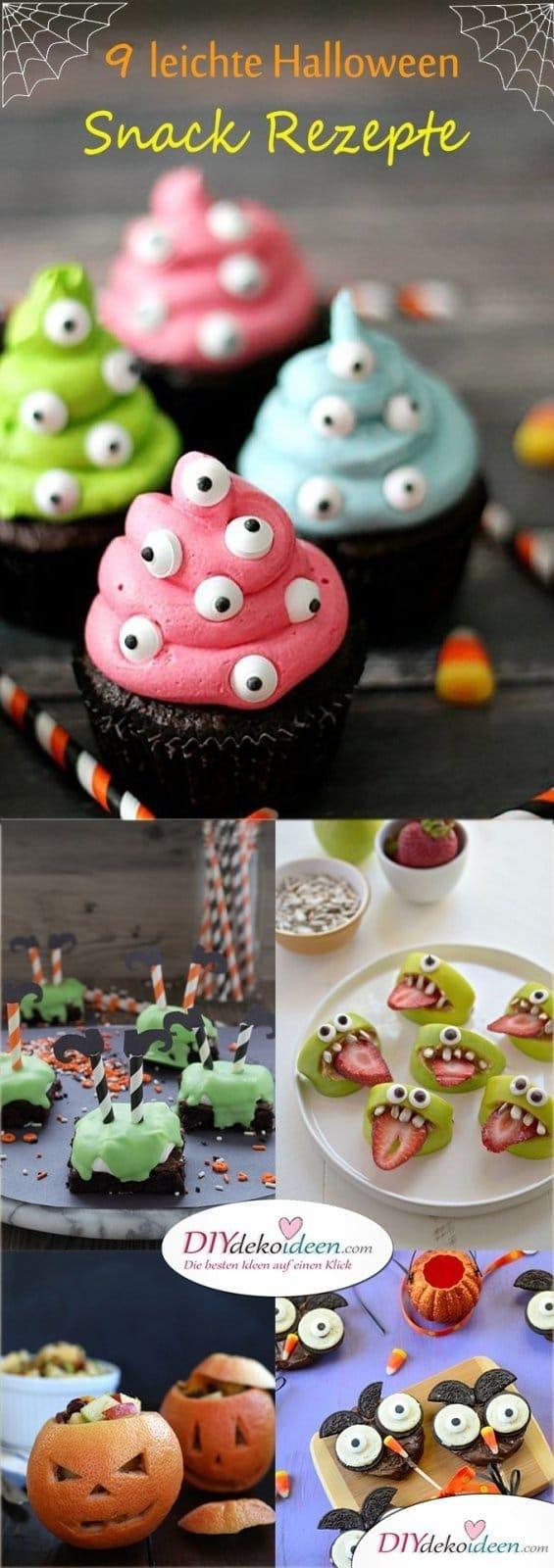 Diese Halloween Snack Rezepte werden Hexen und Gespenster lieben