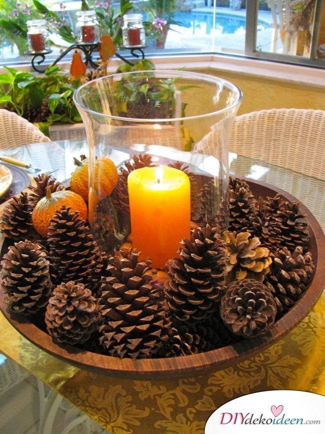 Herbstdeko Ideen.15 Stimmungsvolle Herbst Tischdeko Ideen Zum Selber Machen