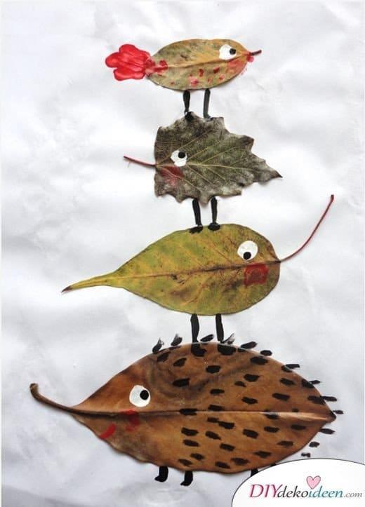 Herbstdeko basteln tolle diy bastelideen zum diydekoideen diy ideen - Herbstdeko basteln ...
