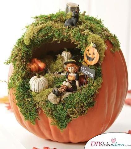 Herbstdeko basteln -DIY Bastelideen - Feengarten