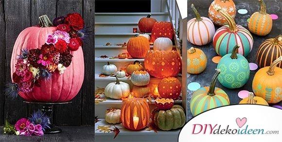Deko mit Kürbissen im Herbst – Über 15 Dekoideen für Haus und Garten