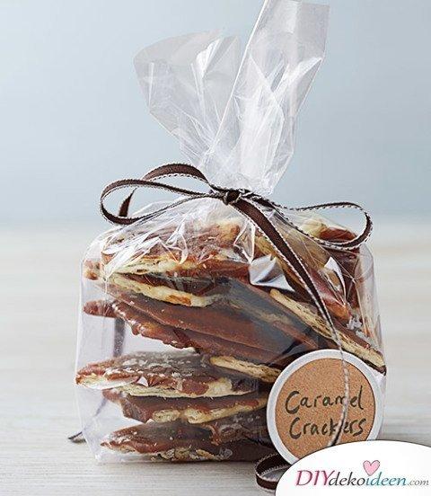 Bastelideen für DIY Weihnachtsgeschenke - Weihnachten Geschenke basteln - Süßes verschenken