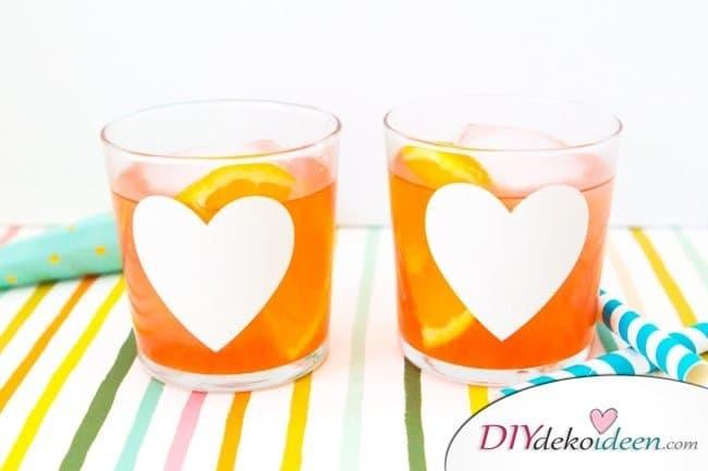 Bastelideen für DIY Weihnachtsgeschenke - Weihnachten Geschenke basteln - DIY Gläser