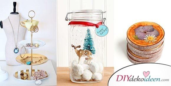 Die schönsten Ideen für günstige DIY Weihnachtsgeschenke