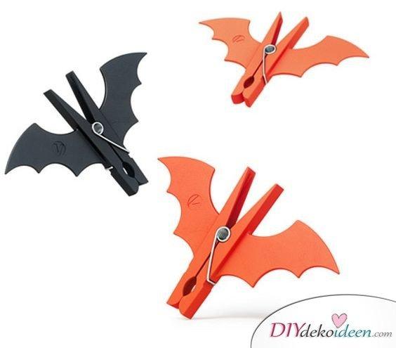 Halloween Bastelideen für Kinder - DIY Bastelideen - Halloween basteln